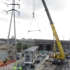 Installing Metro Electrical Substation